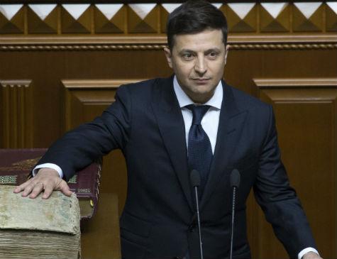 Volodymyr Zelenski, presidente da Ucrânia