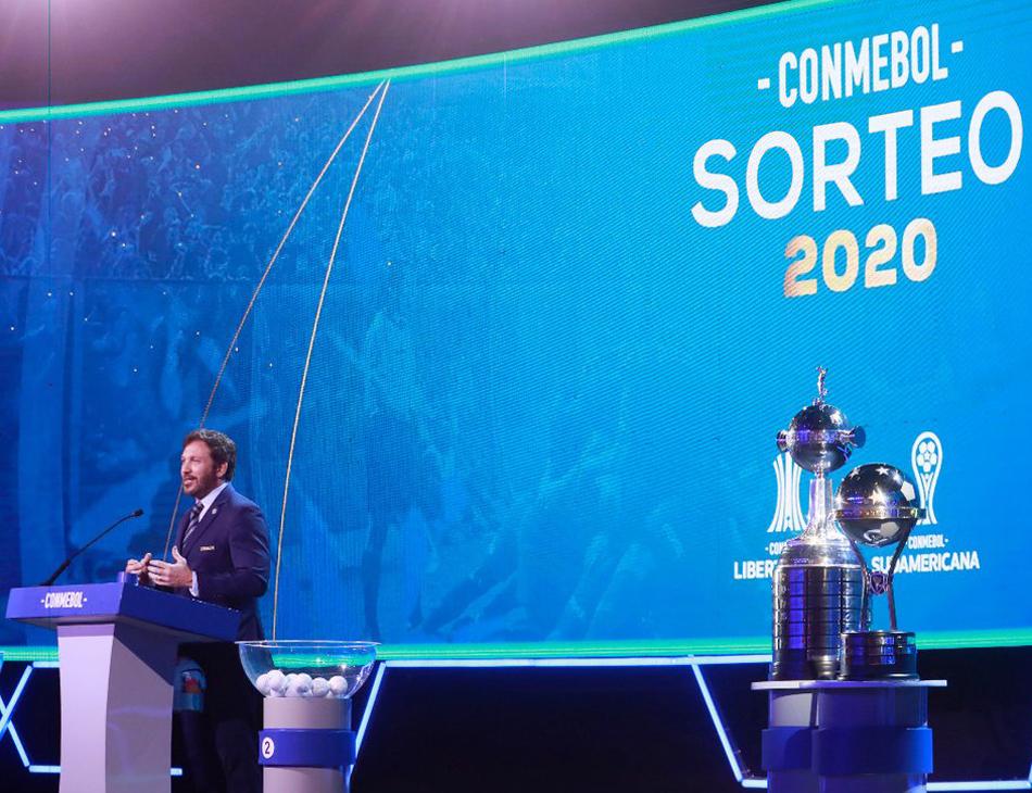 Sorteio das Copas Libertadores e Sul-Americana