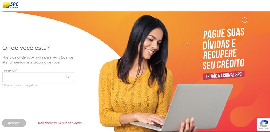 Feirão on-line do SPC Brasil