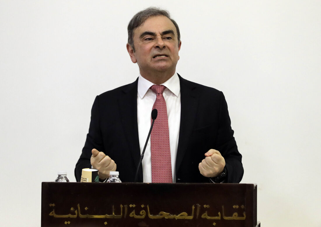 Ex-CEO da Renault-Nissan, Carlos Ghosn
