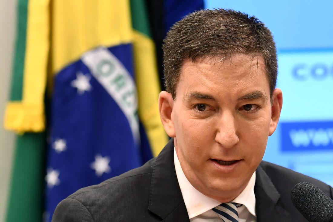 Jornalista Glenn Greenwald, fundador do site The Intercept Brasil