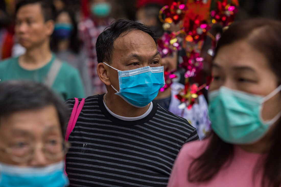 As pessoas só devem usar máscaras caso apresentem sintomas