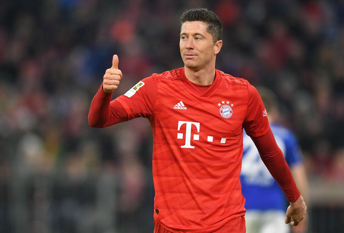 Lewandowski, atacante do Bayern