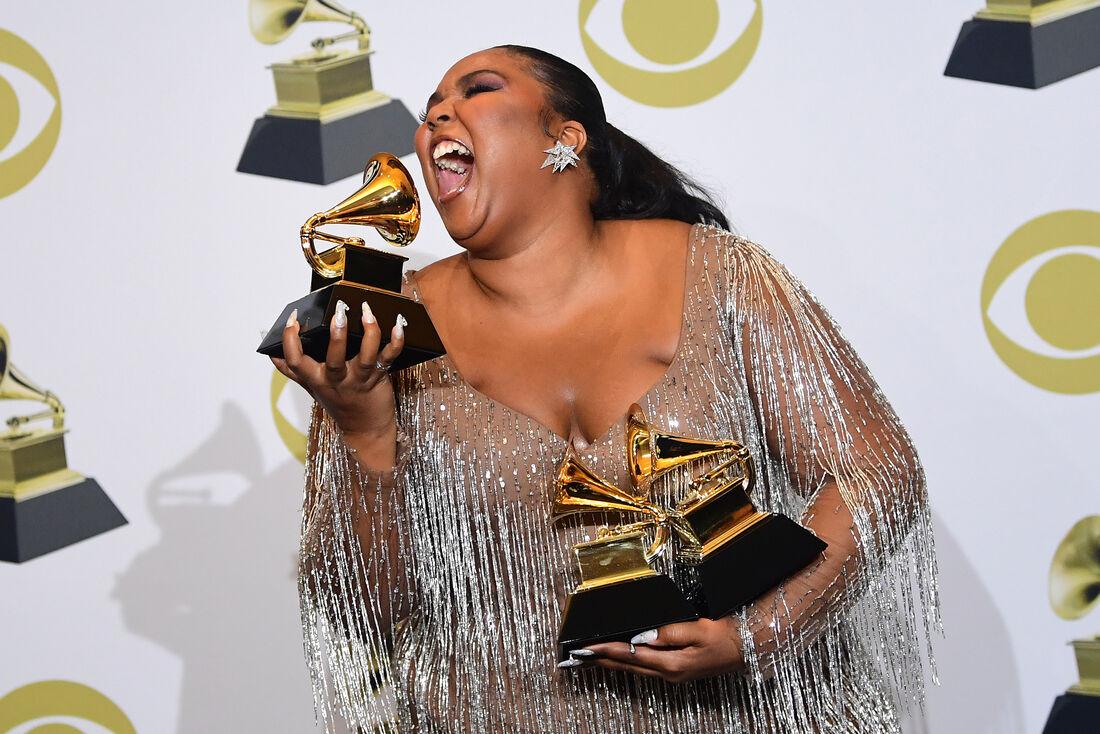 Lizzo venceu em três categorias