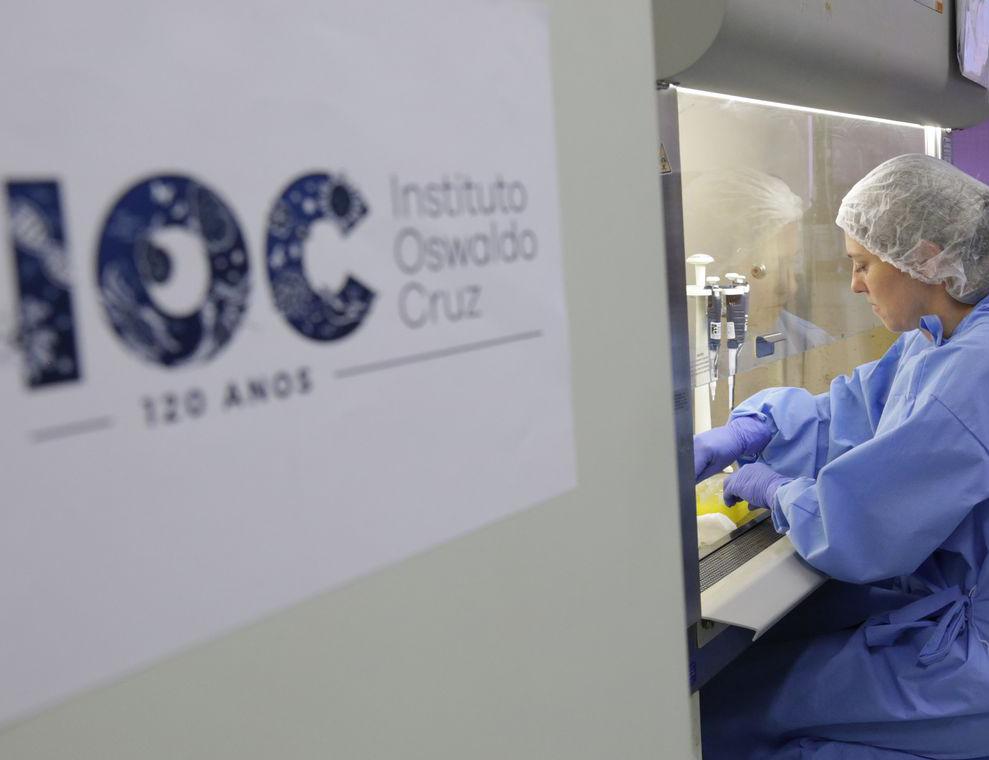 Laboratório do Osvaldo Cruz