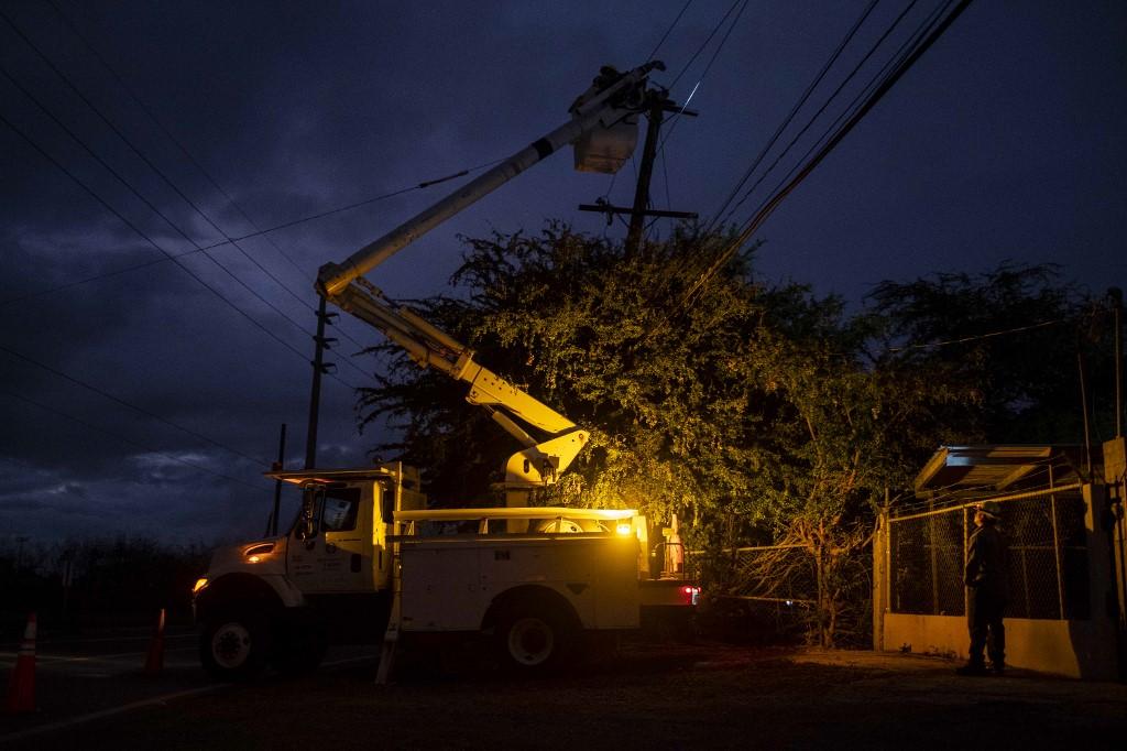 Terremoto derrubou a energia em alguns pontos do país