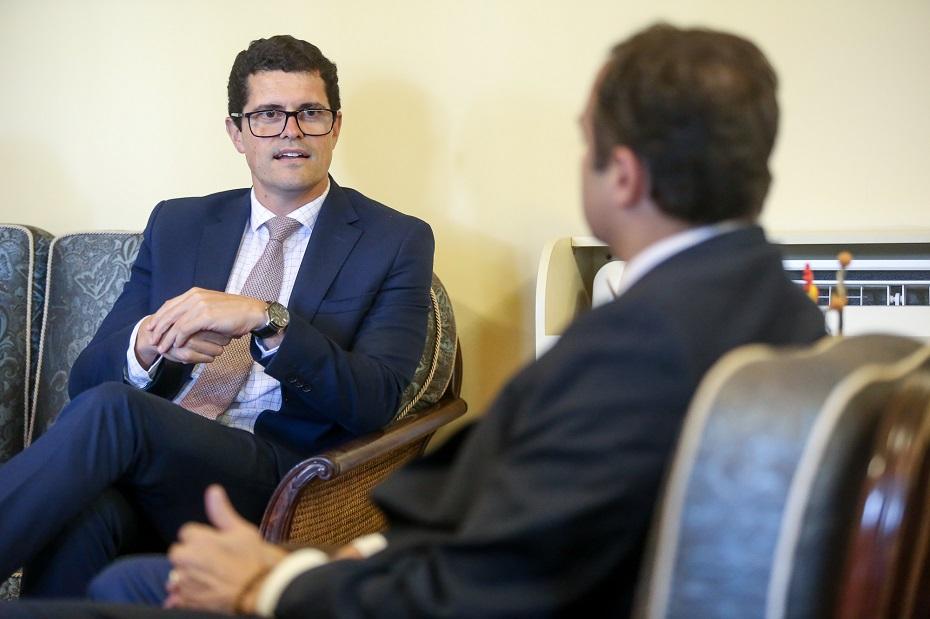 Santiago Yus apresentou o plano de ações a Paulo Câmara
