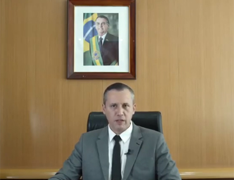 Roberto Alvim, ex-secretário da Cultura do governo Bolsonaro
