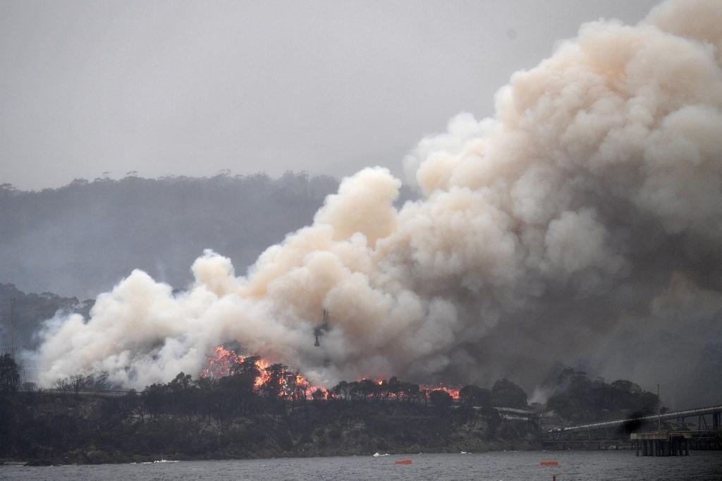 Incêndios florestais na Austrália