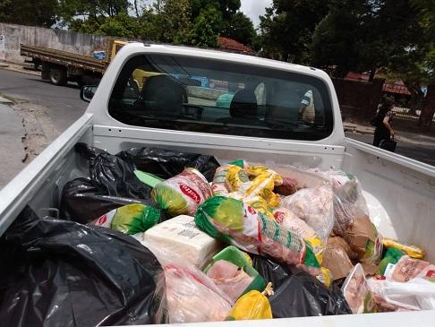 Além das carnes, laticínios em geral, arroz integral e amendoins também foram recolhidos