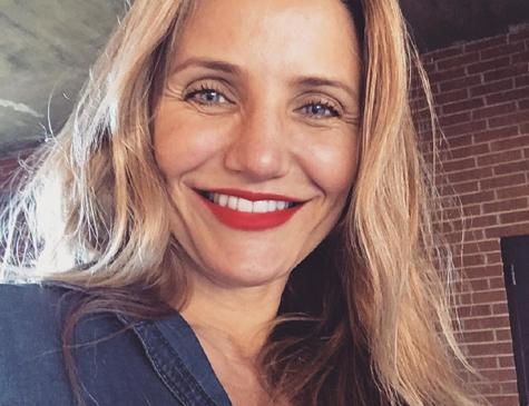 A atriz Cameron Diaz