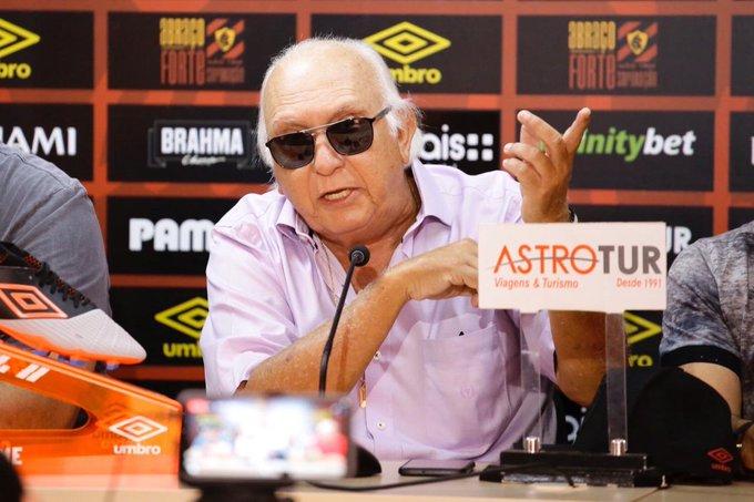 Milton Bivar, presidente do Sport