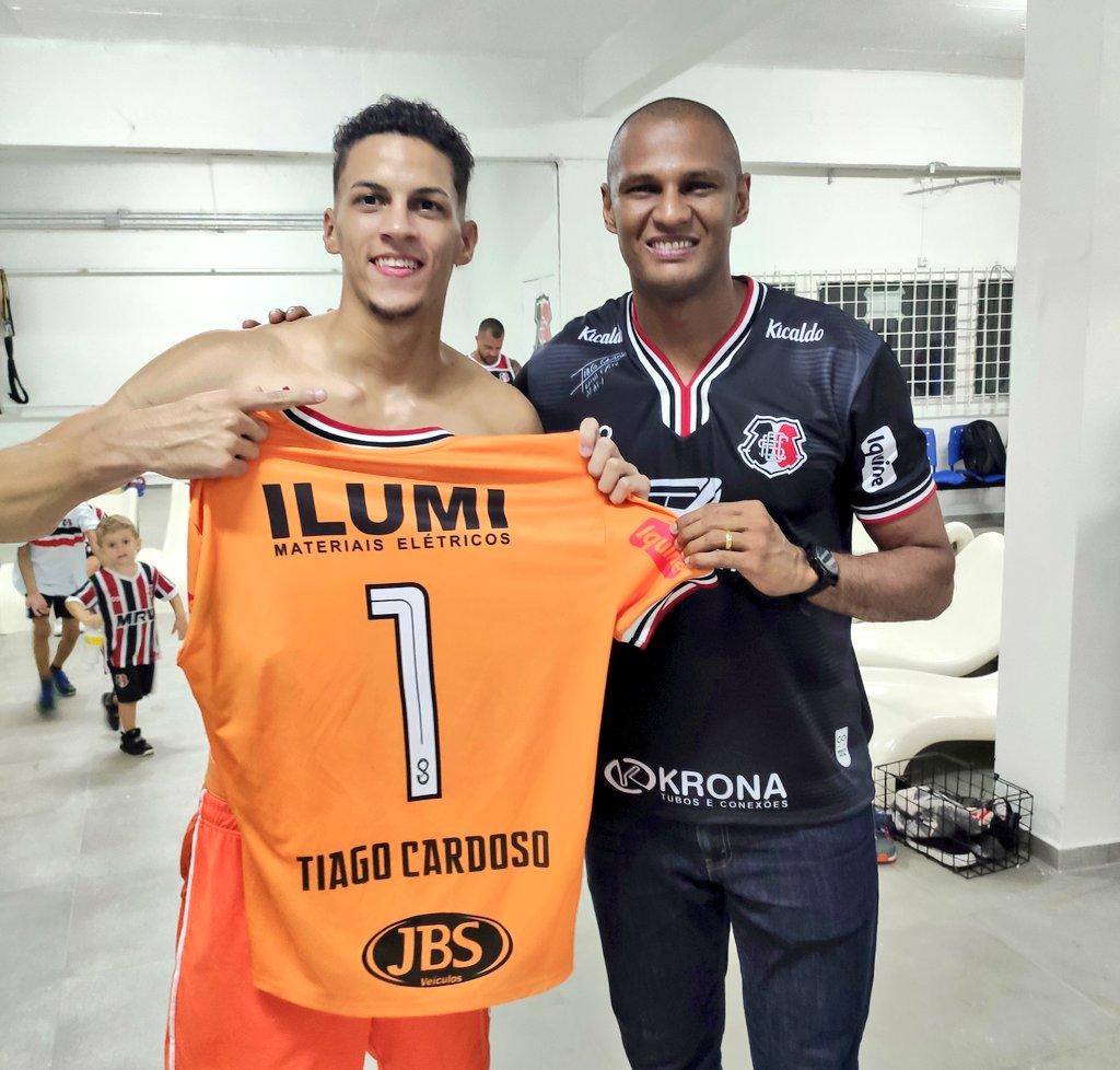 Maycon Cleiton e Tiago Cardoso