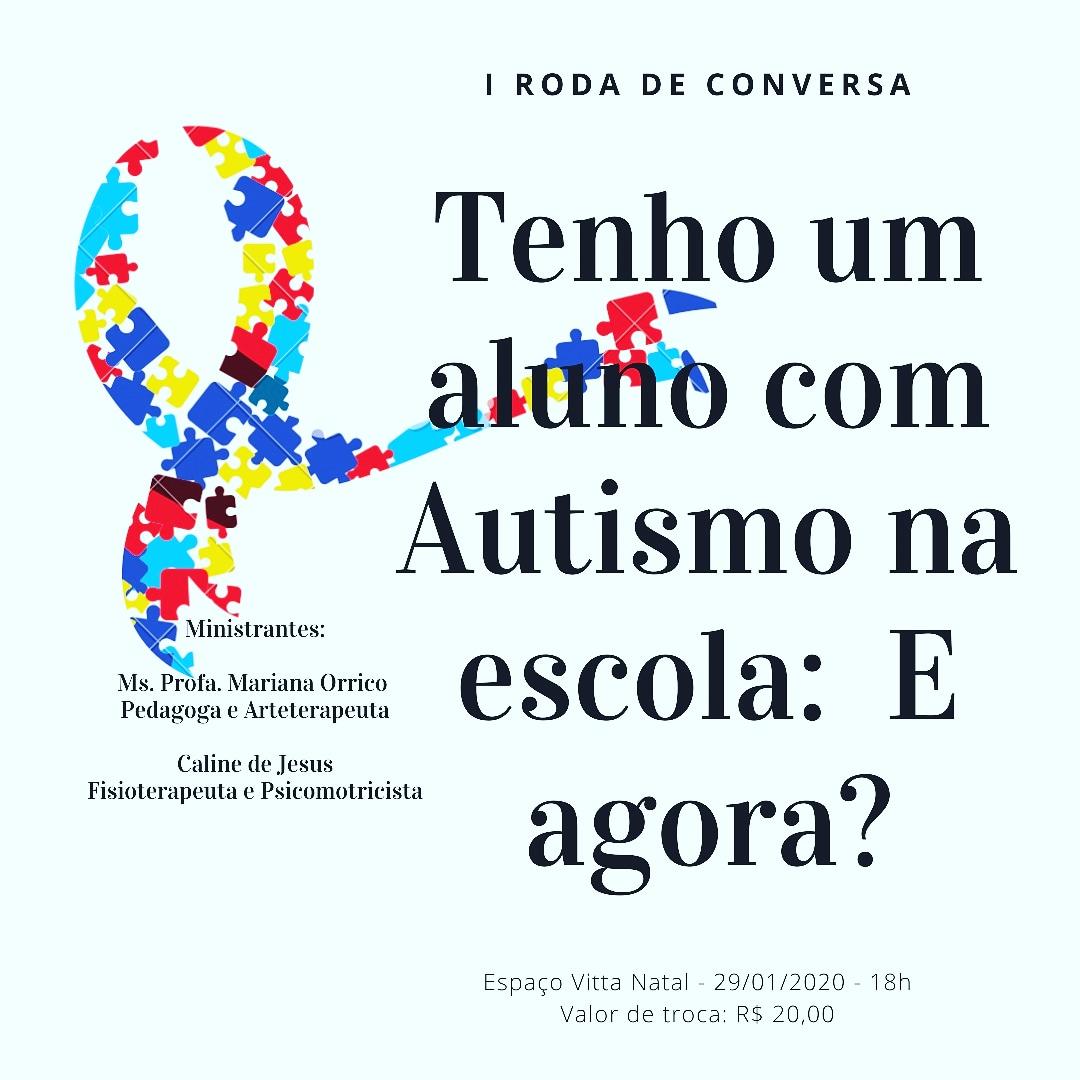 EVENTO 29-1 I RODA DE CONVERSA - NATAL - RN