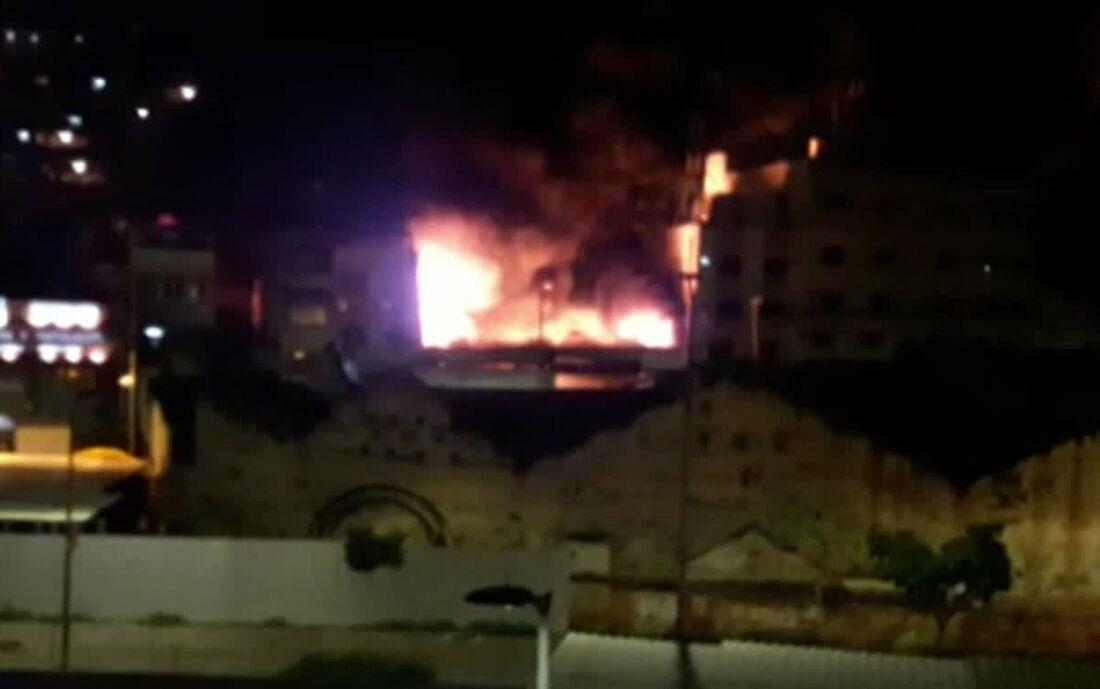 Explosão em casa no Complexo do Alemão