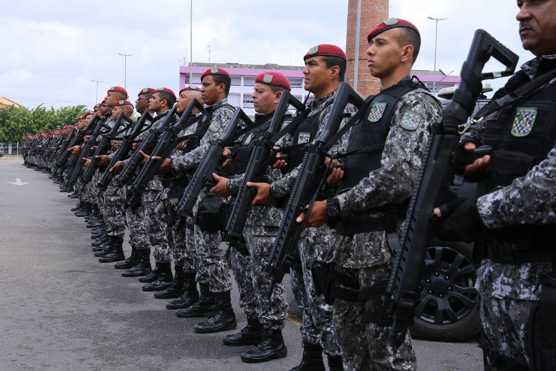 Força Nacional em Paulista