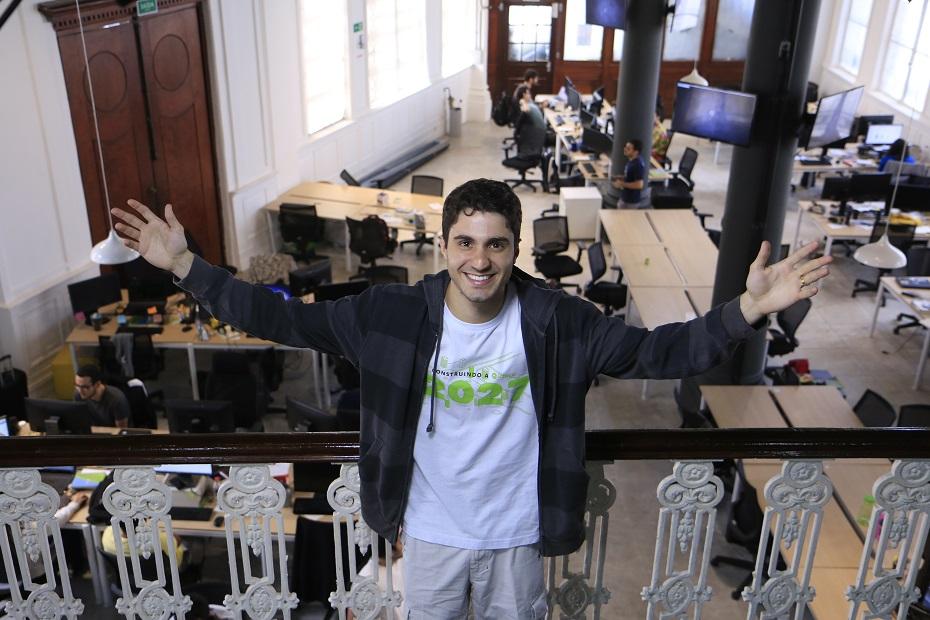 André Ferraz passou a morar na Califórnia, para desenvolver os serviços da startup no mercado americano