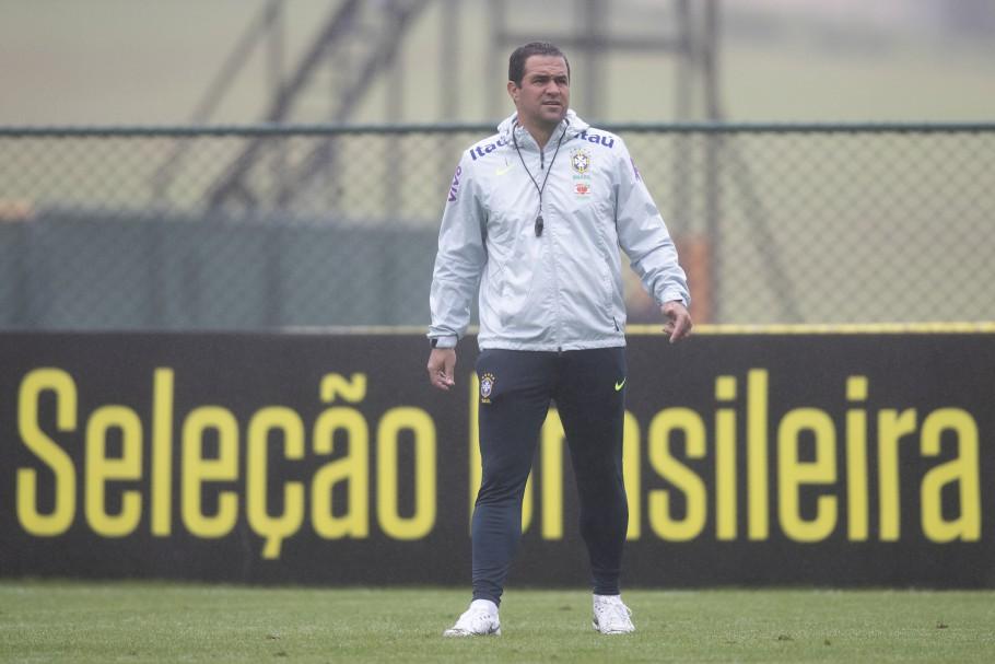 André Jardine, técnico da Seleção Brasileira olímpica