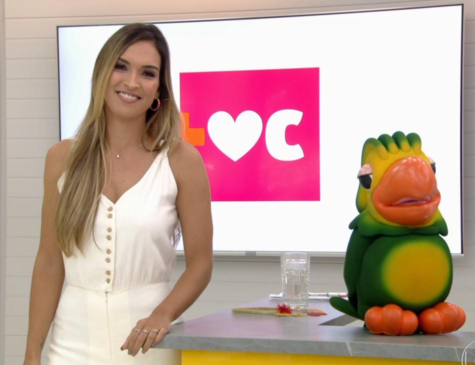 Talitha Morete assumiu o programa durante a ausência de Ana Maria Braga