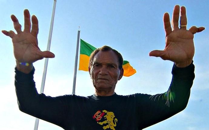 Manga, ex-goleiro da Seleção Brasileira e do Sport