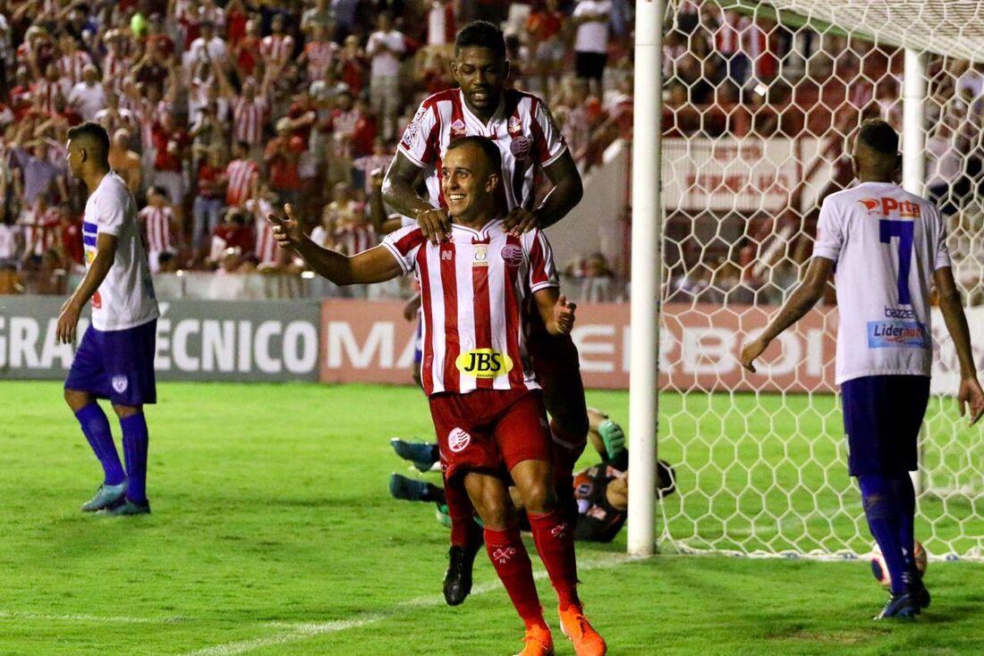 Matheus Carvalho, atacante do Náutico