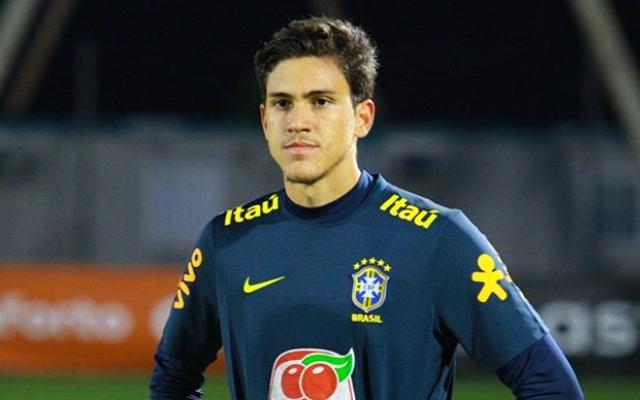 Pedro, novo atacante do Flamengo