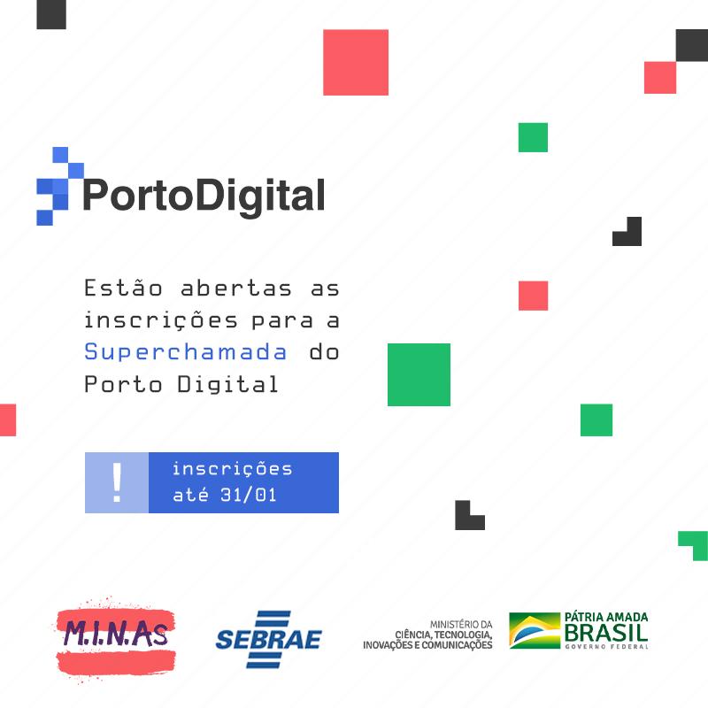 Superchamada de empreendedorismo do Porto Digital
