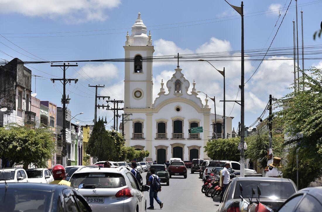 Igreja de Nossa Senhora do Rosário dos Homens Brancos, Matriz de Goiana