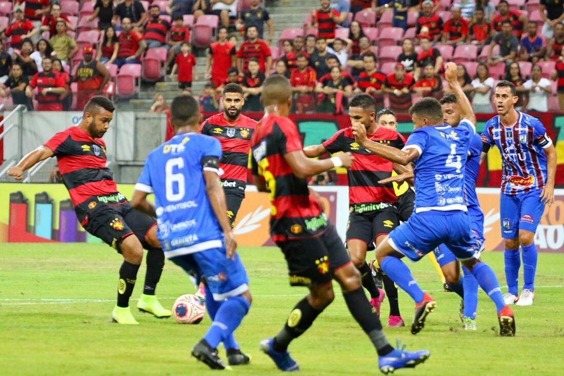 Sport x Vitória, pelo Pernambucano