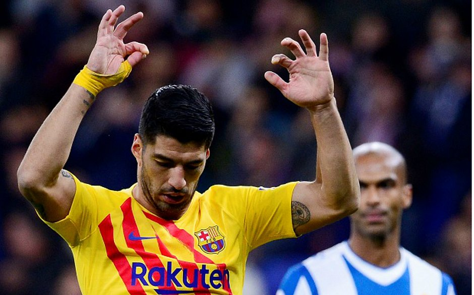 Suárez, atacante do Barcelona
