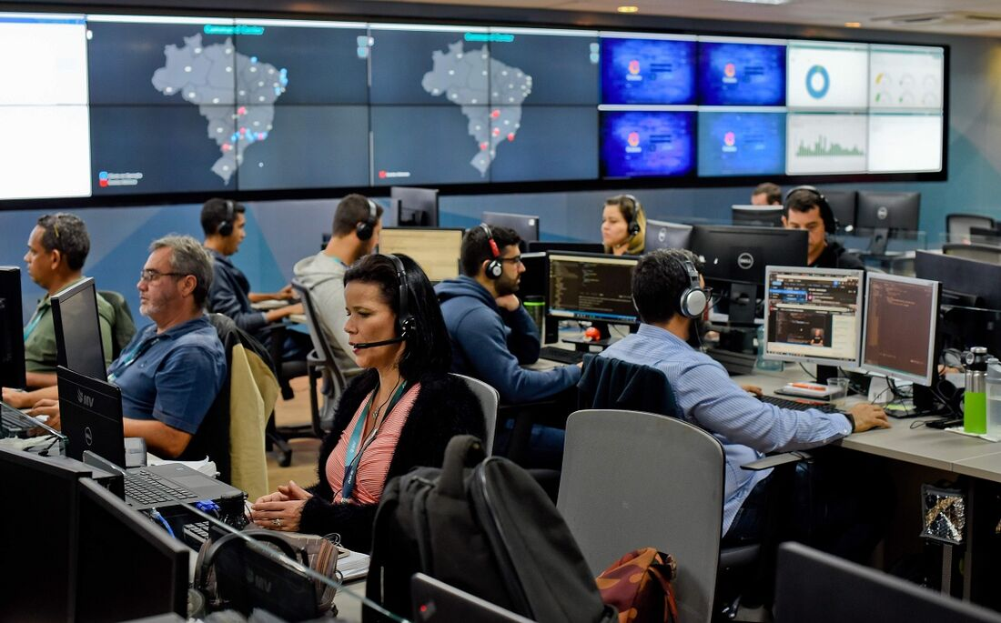 Command center da MV no Recife