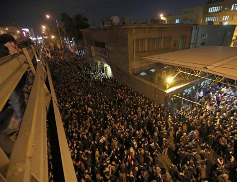 """Protesto no Teerã denunciou """"os mentirosos"""" e exigiu processos contra os responsáveis pela tragédia e aqueles que, segundo os manifestantes, tentaram encobri-lo"""