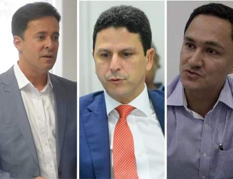 Anderson Ferreira, Bruno Araújo e André Ferreira