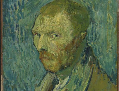 Autorretrato feito por Van Gogh
