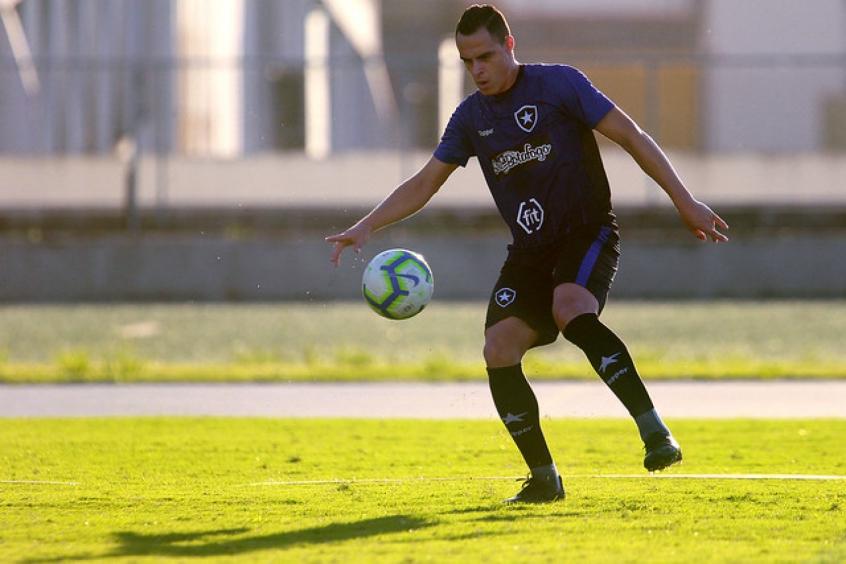 Victor Rangel estava no Botafogo
