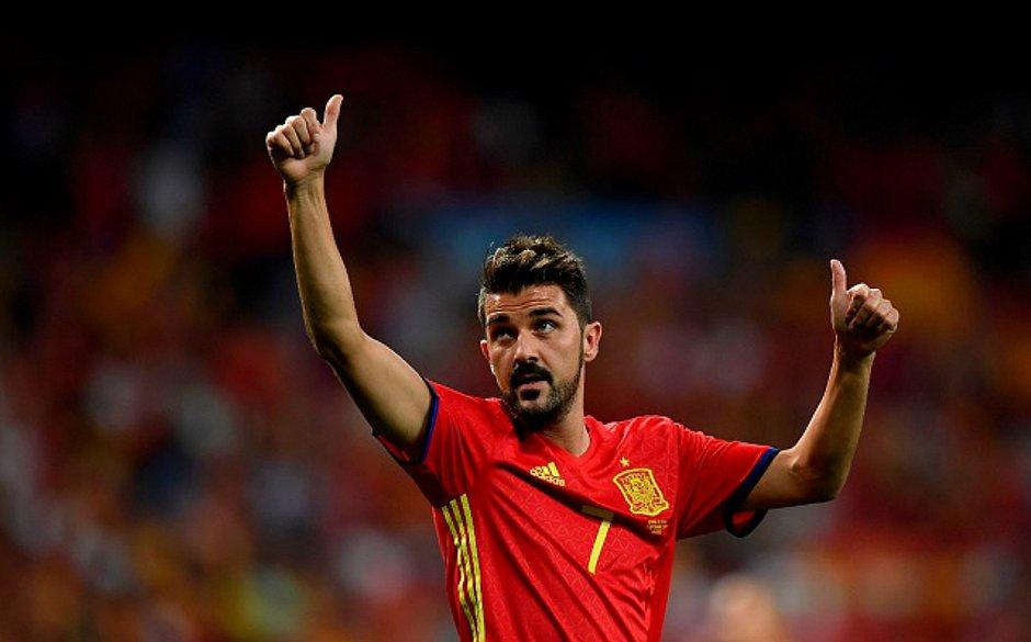 David Villa é o maior artilheiro da seleção espanhola