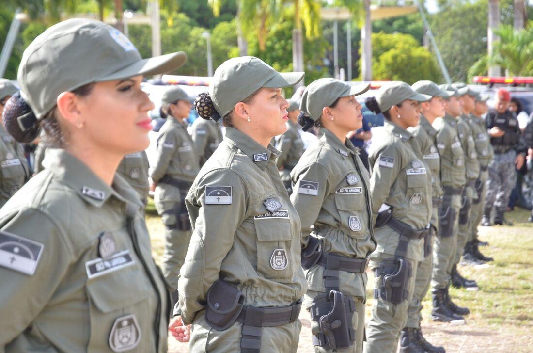Formação de 495 novos policiais militares