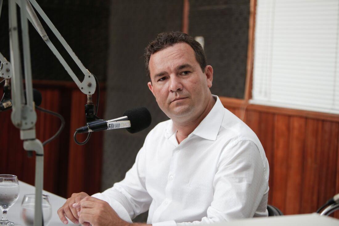 Prefeito do Paulista Junior Matuto (PSB), em entrevista à Rádio Folha