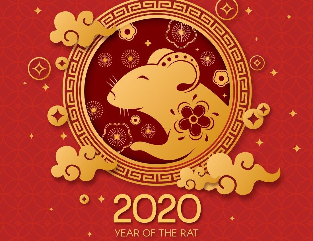 Ano-novo chinês - Rato Metal Yang