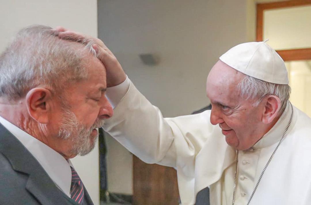 Encontro entre Lula e papa Francisco