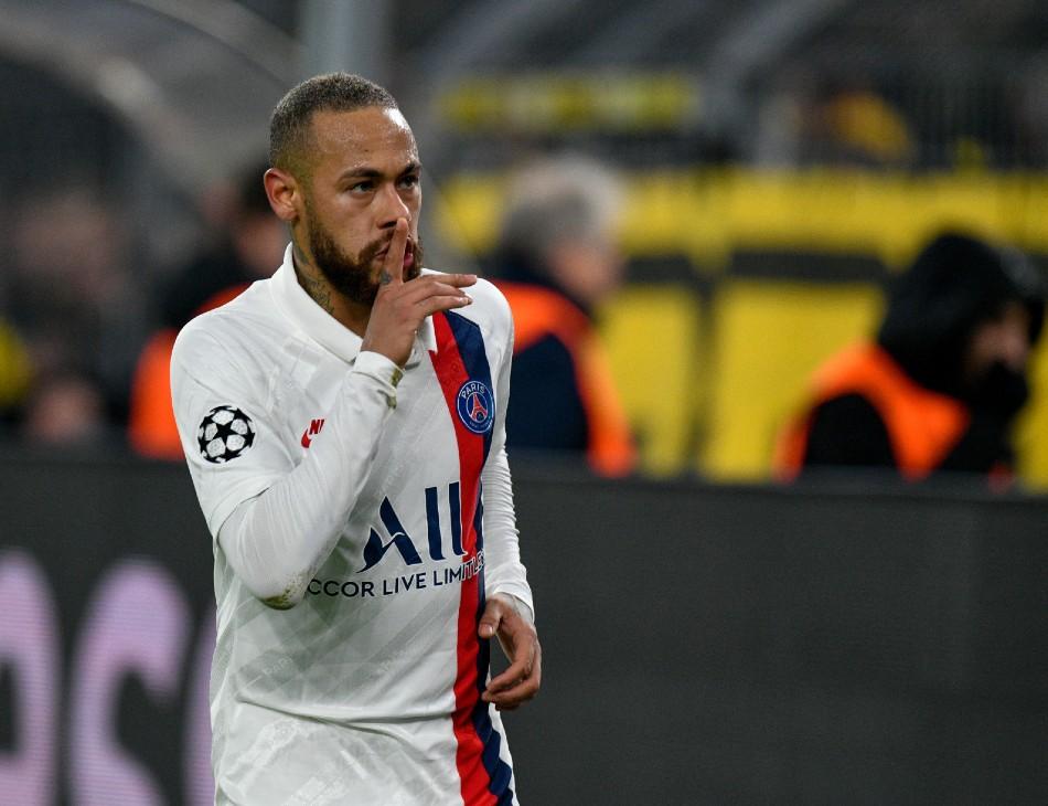 Neymar marcou, mas não evitou derrota do PSG em confronto contra o Borussia Dortmund