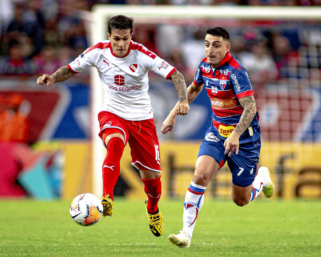 O tricolor cearense venceu o Independiente por 2 a 1 na Arena Castelão