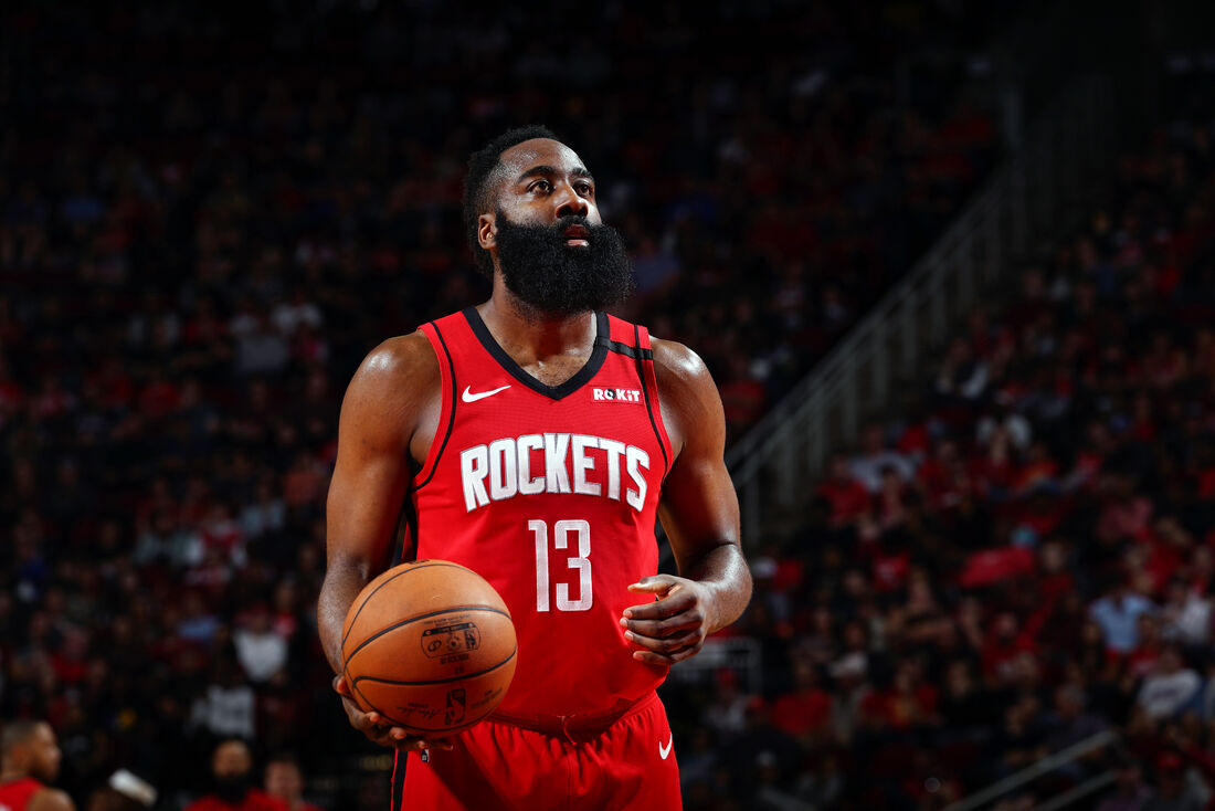 James Harden, armador do Houston Rockets