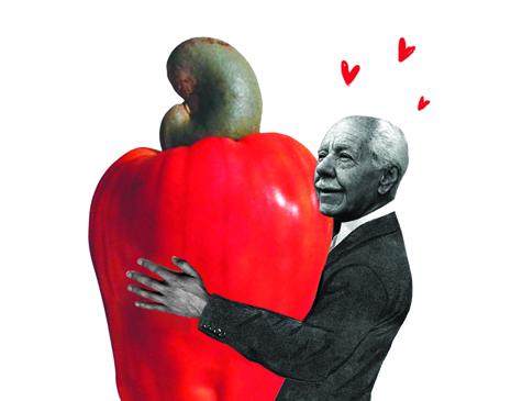 Silvio Caldas era um apaixonado por cajus
