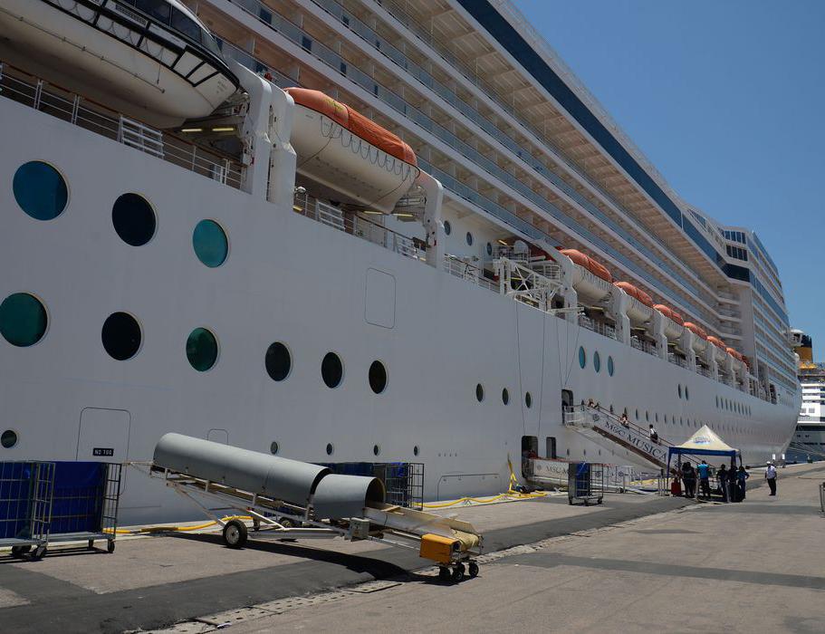 Chegada de navios em costa brasileiras são monitorados pela Anvisa