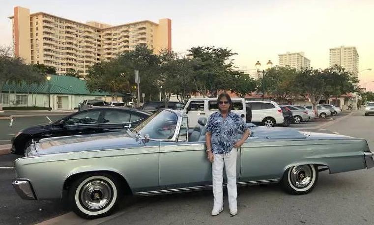 Roberto Carlos está em Miami (EUA) e postou fotos no Instagram