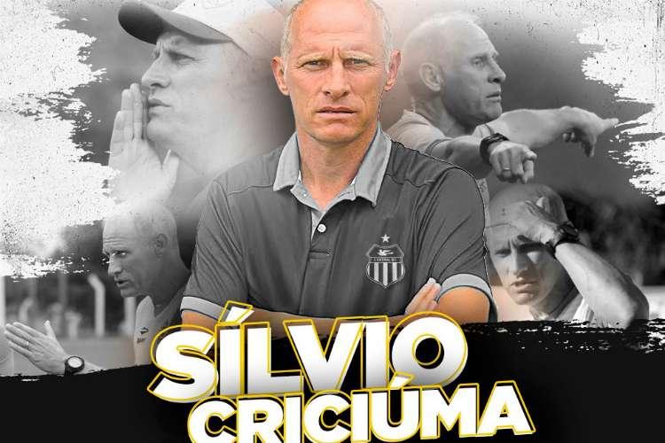Sílvio Criciúma, técnico do Central