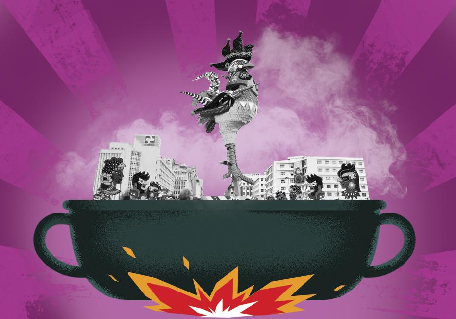 O dia do principal bloco do nosso Carnaval pede comida de 'sustança'