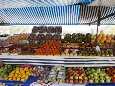 Frutas e verduras em feira livre
