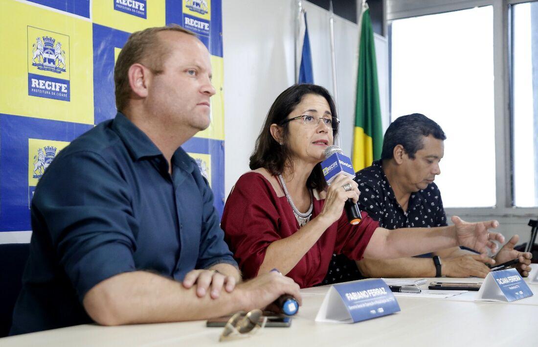 Representantes da CTTu divulgam o esquema de trânsito para o Carnaval 2020